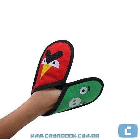 Luva de forno / pegador de Panela de Angry Birds