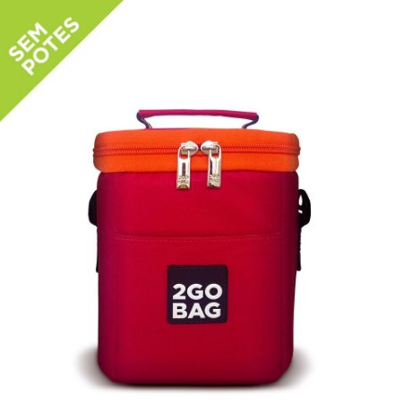 Bolsa Térmica 2goBag 4ALL Fun Mini Start | Red