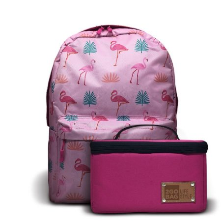 Mochila Térmica 2goBag 2GETHER LifeStyle | Pink Flamingos