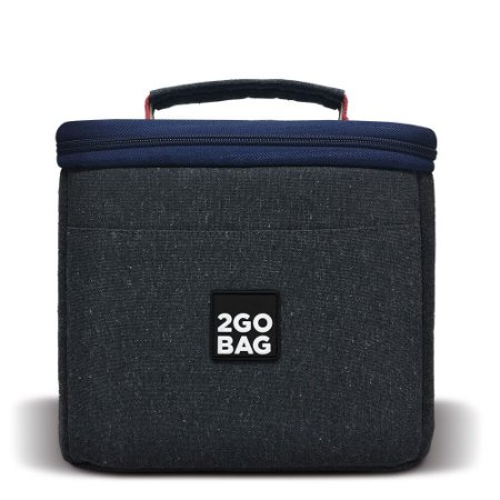 Bolsa Térmica 2goBag 4ALL Eco Mid | Gray