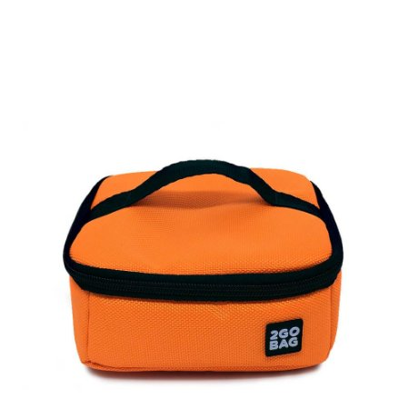 Bentô Térmico 2goBag Single 700 ml | Fluor Orange