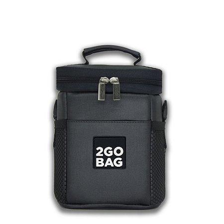 Bolsa Térmica 2goBag SPORT Mini | Chumbo