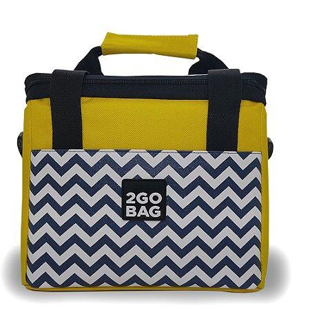 Bolsa Térmica 2go Bag Mid Copacabana com Capacidade para 6,6 Litros