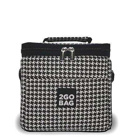 Bolsa Térmica 2go Bag Mini Pied Poule com Capacidade para 4,3 Litros