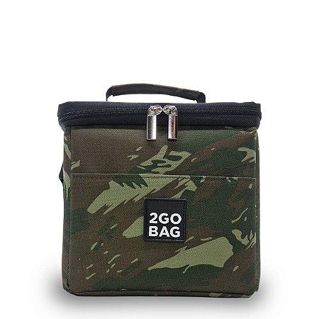 Bolsa Térmica 2go Bag Mini Camuflada com Capacidade para 4,3 Litros