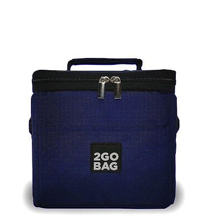 Bolsa Térmica 2go Bag Mini Navy com Capacidade para 4,3 Litros