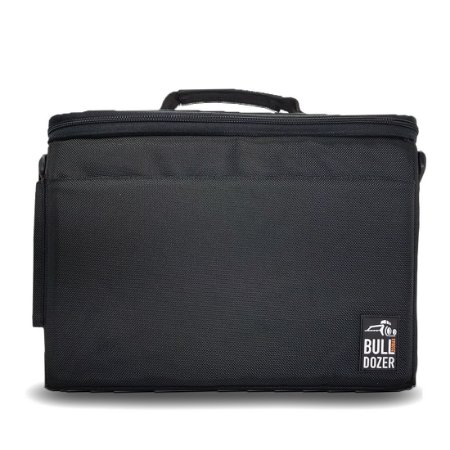 Porta Note Book Bulldozer | Black