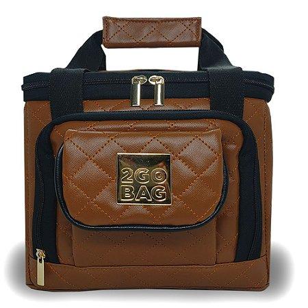 Bolsa Térmica 2go Bag Mid Fashion Toffe com Capacidade para 6,6 Litros