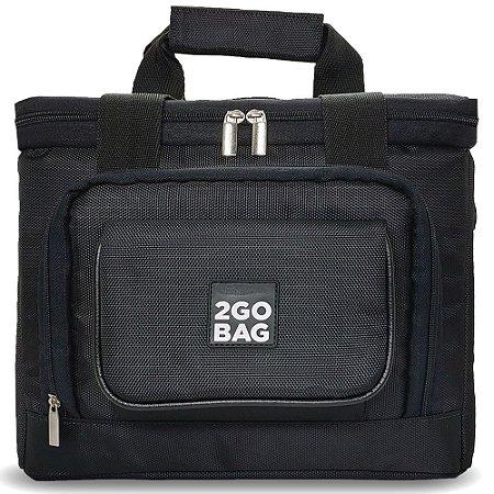 Bolsa Térmica 2go Bag Pro Sport Black com Capacidade para 13,5 Litros