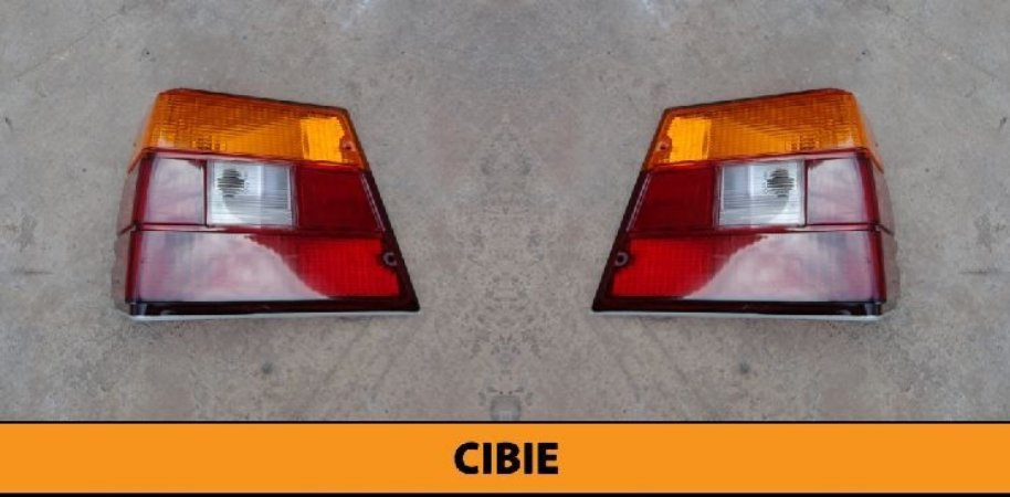 Lanterna Traseira Caravan 85 - 92 Nova Cibie Tricolor Original Nova