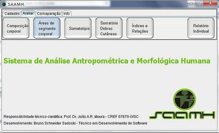 SAAMH 3.0 - Software de Avaliação Antropométrica e Morfológica Humana