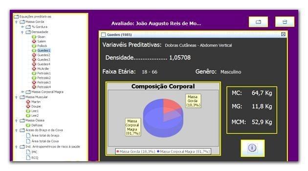 SAAMH 2.0 - Software de Avaliação Antropométrica e Morfológica Humana