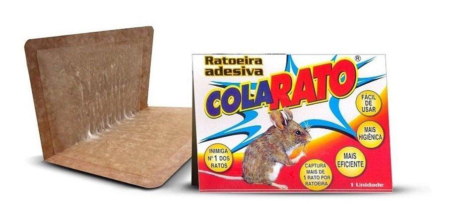 Ratoeira Adesiva Cola Rato (cartela)