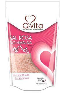 SAL ROSA DO HIMALAIA FINO 200G Q-VITA