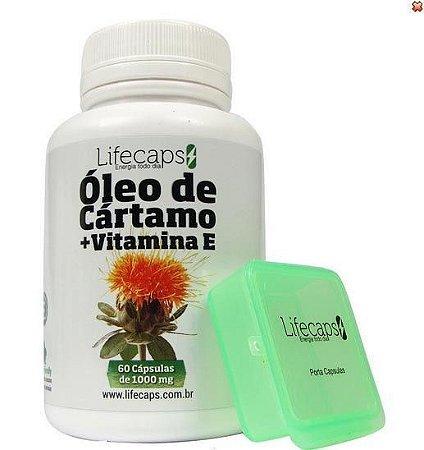 ÓLEO DE CARTAMO (Acelera o metabolismo)1000Mg - 60 Capsulas