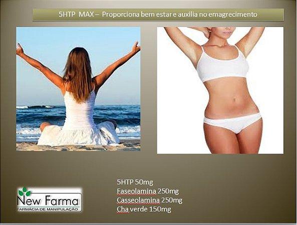 5HTP MAX - Proporciona bem estar e auxilia no emagrecimento