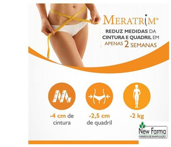 Meratrim - Reduz medidas da cintura e do quadril