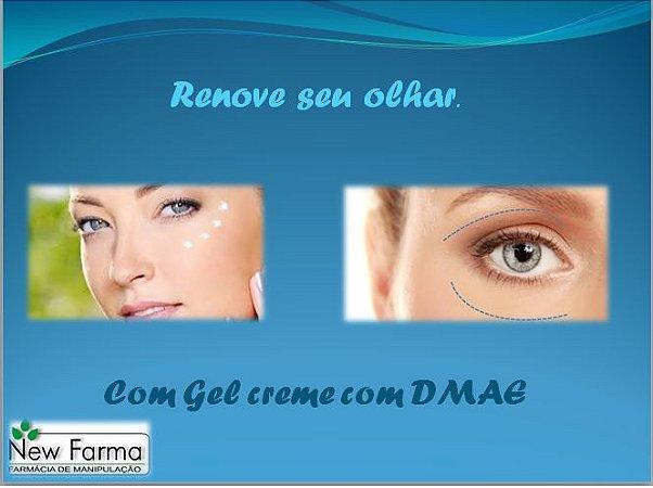 GEL COM DMAE 5% (Aumenta a firmeza na area dos olhos) 30Gr