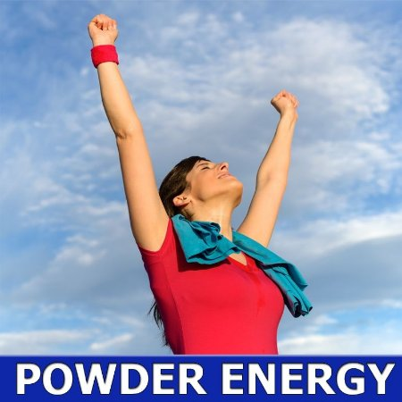 Powder Energy (Composto natural energético) - 500 Mg - 60 Capsulas