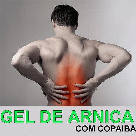 GEL DE ARNICA C/ COPAÍBA (Alivia dor) 50Gr