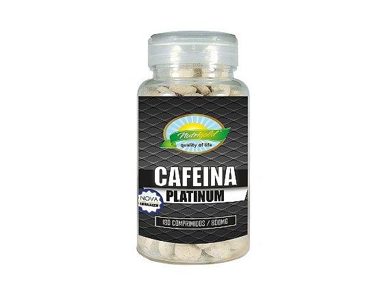 Cafeina Platinum 800Mg - 180 Capsulas