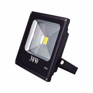 Refletor Led 30w Holofote Maxtel Branco  Quente Ip66