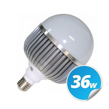 Lâmpada Bulbo Led 36w Branco Frio Aluminio