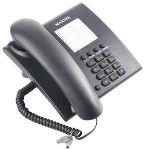 Aparelho Telefone De Mesa C/ Fio Mt-686 Maxtel Preto