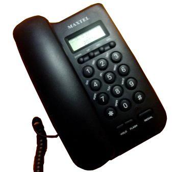 Telefone Com Bina Identificador De Chamadas Maxtel Mt806