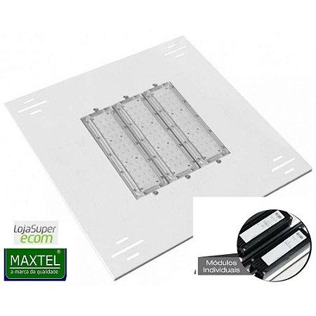 Luminária Led Posto De Combustível Maxtel Embutir Blindado 3 Modulo M