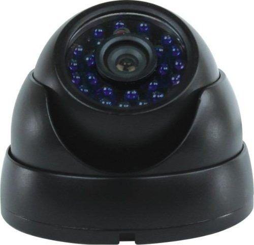 Camera Segurança Dome Infra Vermelho 24 Leds 20mts
