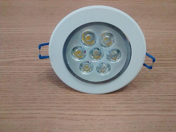 Spot Super Led Lampada Direcionável 7w