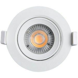 Spot 3w Carcaça Branca E Luz Branco Frio