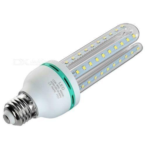 10 lâmpada Led 3u Led Milho Bivolt E27 Potencia Real 7w