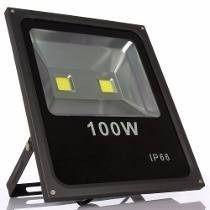Refletor Holofote Led 100w Branco Frio Maxtel