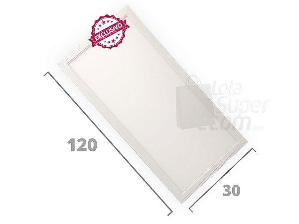 Luminária Plafon Led 45w 30x120 Embutir 6000K