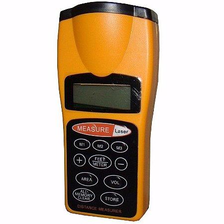 Trena Digital A Laser ( Medidor De Distâncias) Co95