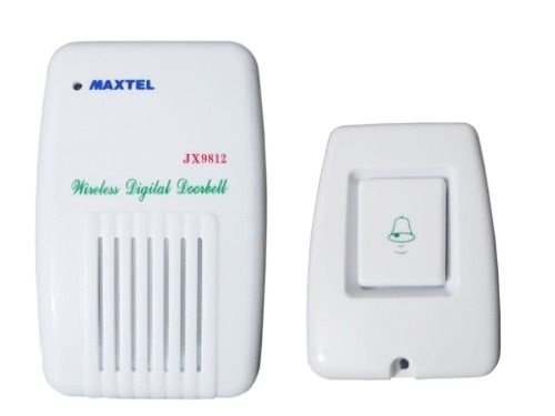Campainha Wireless Ding-dong Até 80 Metros Bi-volt Maxtel