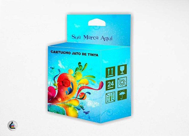1.000 Caixas de Cartuchos Personalizadas 4x10x7cm