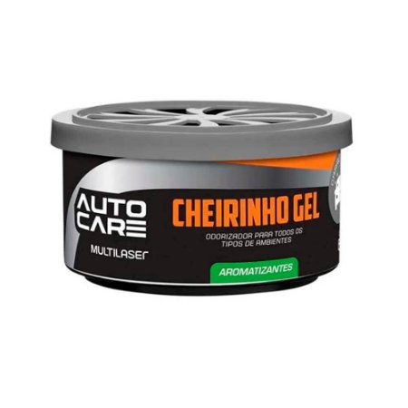 Aromatizante Gel Autocare Carro Novo 60G Pote - AU440