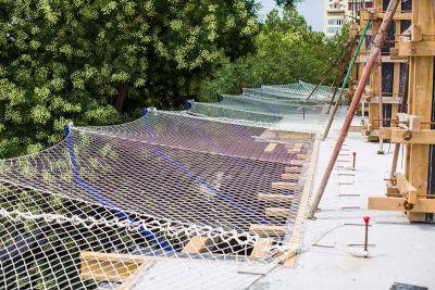 Rede de Proteção Tênis, Janela, Sacada - Fardo 7x20 metros na Malha 5cm e Fio 2.5