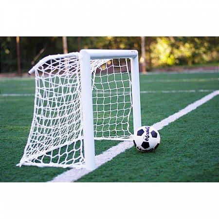 Par Rede de Mini Gol para Futebol Fio 4 Malha 10