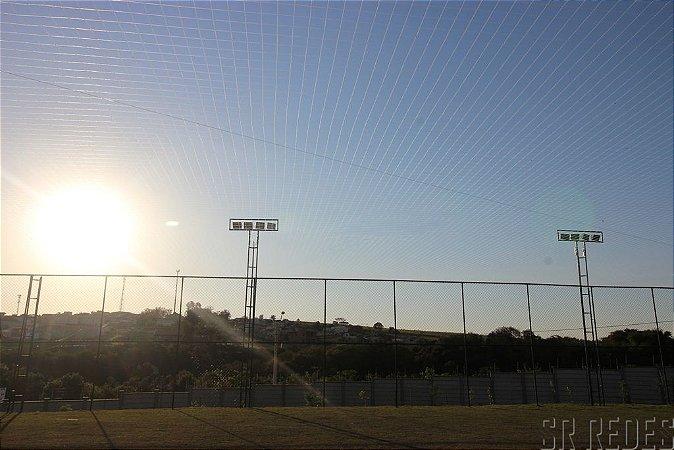 Rede de Proteção Esportiva Sob Medida para Cobertura de Campos de Futebol e Society - Fio 2 - Malha 15