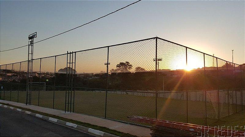 Rede de Proteção Esportiva Sob Medida para Cobertura de Quadras Poliesportivas, Ginásios e Areia - Fio 2 - Malha 10