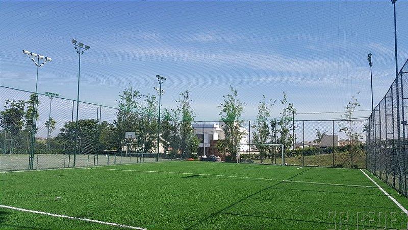 Rede de Proteção Esportiva Sob Medida para Cobertura de Campos de Futebol e Society - Fio 4 - Malha 15