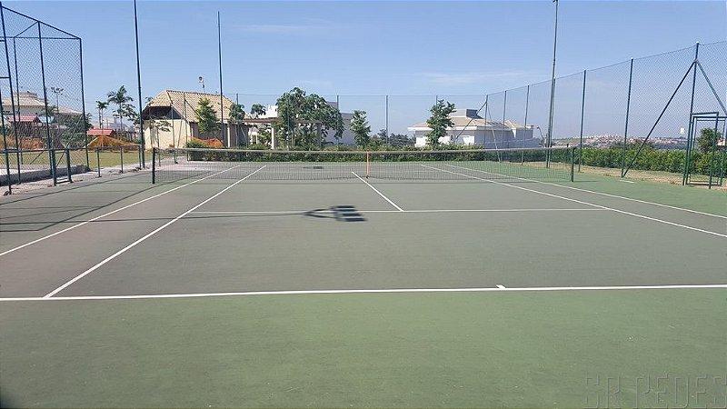 Rede de Proteção Esportiva Sob Medida para Lateral e Fundo de Quadras Poliesportivas, Ginásios e Areia - Fio 4 - Malha 10