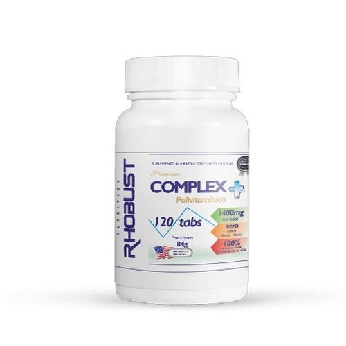 Polivitamínico Complex 1400mg (120 tabs.) - Rhobust Nutrition