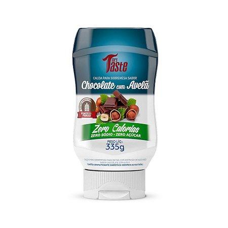 Calda de Chocolate c/ Avelã ZERO (335g) - Mrs. Taste