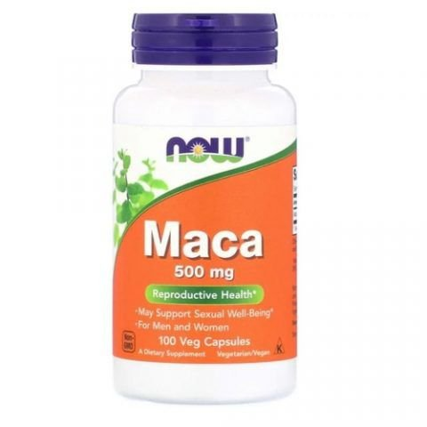MACA PERUANA 500mg (100 CAPS) - Now Foods