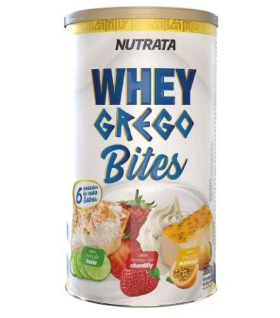 Whey Grego Bites - 360g Limão, Morango e Maracujá - Nutrata